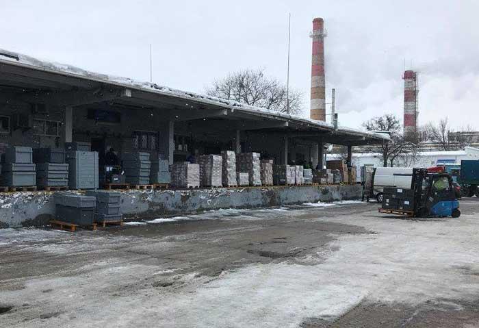 Грузовой терминал Борисполь