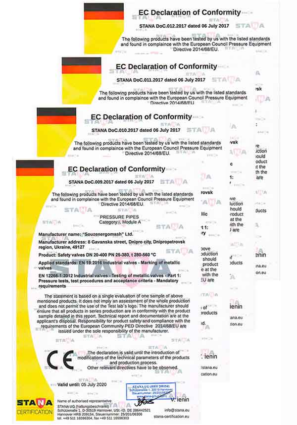 Декларация соответствия ЕС