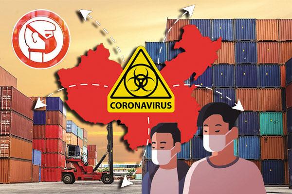 Логистика про коронавирусе