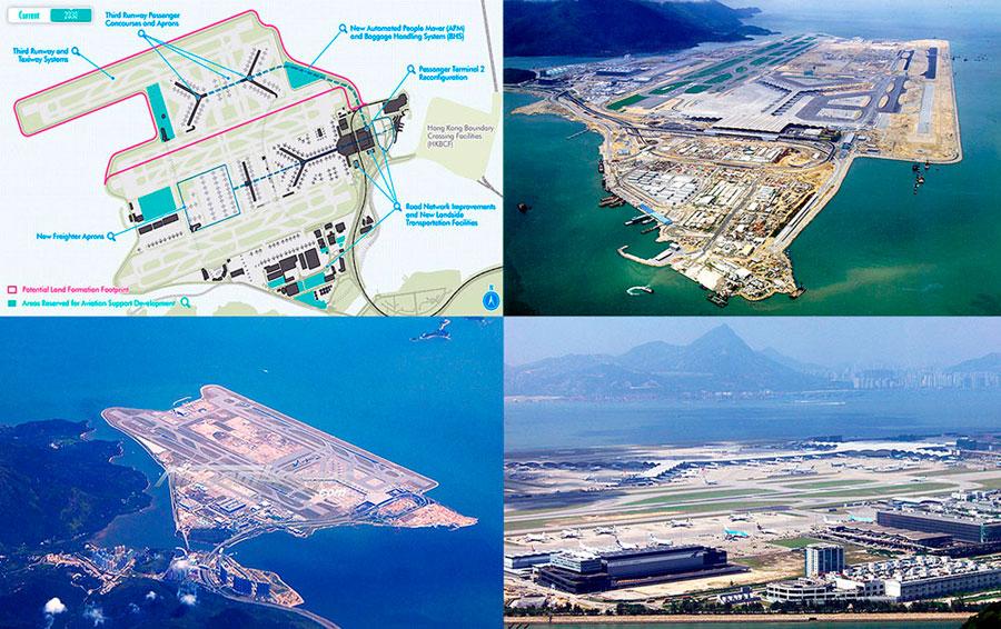 Гонконгский международный аэропорт Чек Лап Кок