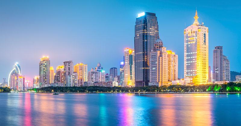 Сямэнь (Xiamen) в Китае