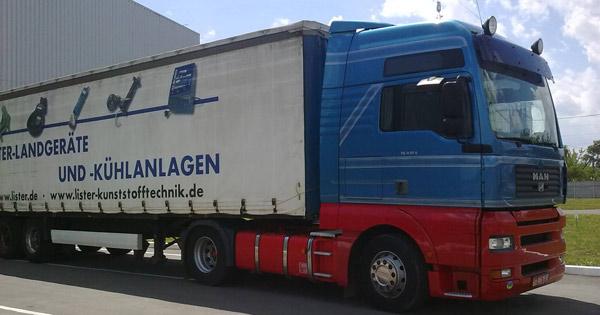 Доставка грузов автомобилем из Дании