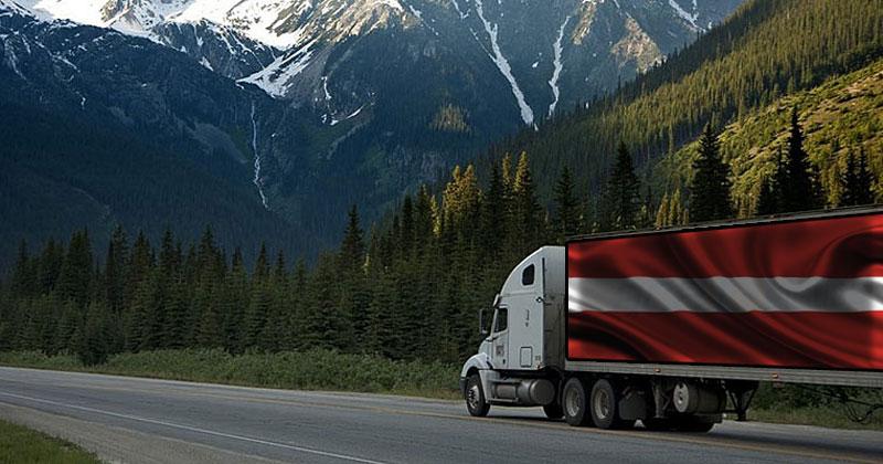 Перевозки грузов Латвия