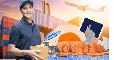 Грузоперевозки из Азии, Австралии